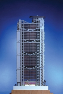 Hong Kong & Shanghai Banking Corporation - Model - foto: © Foster and Partners   Ian Lambot