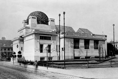 Výstavní pavilon Secession - Historický snímek - foto: archiv redakce