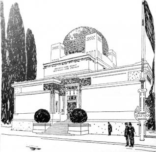 Výstavní pavilon Secession - Perspektiva - foto: archiv redakce