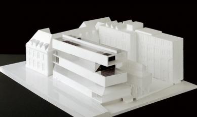 Umělecká škola Sint-Lucas - Model - foto: Xaveer de Geyter Architects