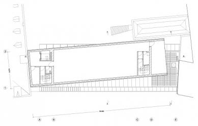 Umělecká škola Sint-Lucas - Půdorys 3.patra - foto: Xaveer de Geyter Architects