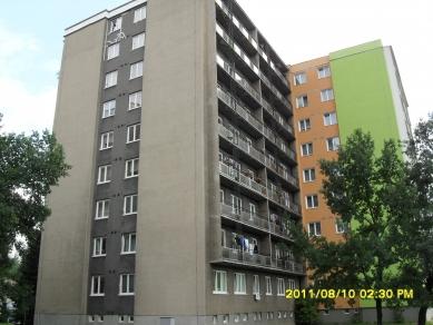 Revitalizace panelového domu - původní stav