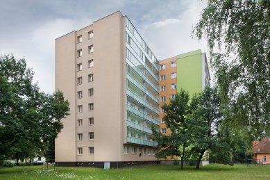 Revitalizace panelového domu - foto: Tomáš Rasl