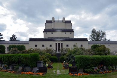 Krematorium a urnový háj v Liberci - foto: Petr Šmídek, 2013