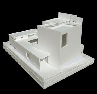Farní kostel v San Sebastianu - Model
