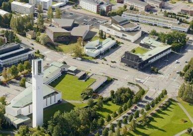 Městská knihovna Seinäjoki - foto: Hanu Vallas