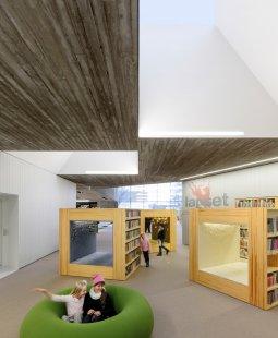 Městská knihovna Seinäjoki - foto: Tuomas Uusheimo