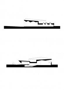 Městská knihovna Seinäjoki - Řezy - foto: JKMM Architects