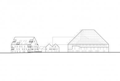 Veřejná knihovna Spijkenisse - Jižní pohled - foto: MVRDV