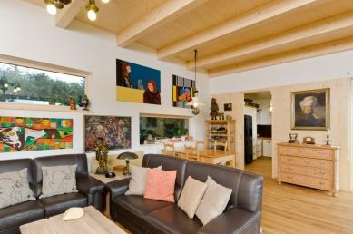 Dům inspirovaný lesem - foto: Martin Zeman