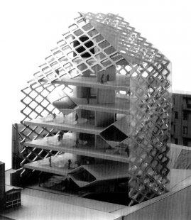 Prada Aoyama Epicenter - Model - foto: © H&deM
