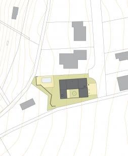 Rodinný dům Medlánky 01 - Situace - foto: knesl + kynčl architekti