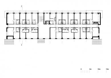 Hotel Duo - 2nd floor - foto: QARTA ARCHITEKTURA s.r.o.