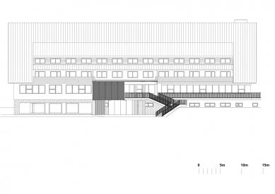 Hotel Duo - Front elevation - foto: QARTA ARCHITEKTURA s.r.o.