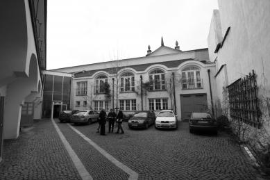 Rekonstrukce domu v Letenské ulici - Původní stav