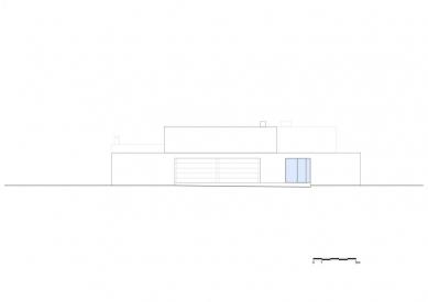 Vila V v T - Jižní pohled - foto: Beel & Achtergael Architects