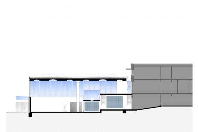 Forum at the Eckenberg Academy - Řez - foto: Ecker Architekten