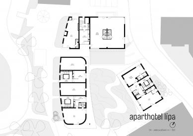 Lipa Resort - Aparthotel Lípa - Půdorys přízemí