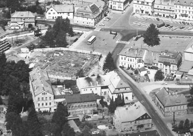 Lipa Resort - Aparthotel Lípa - Historický snímek parcely z roku 1995