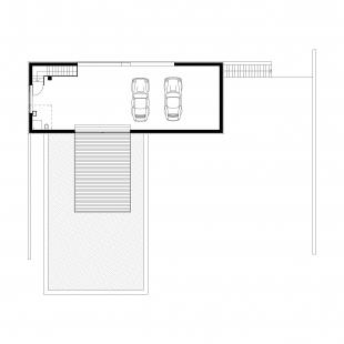 Rodinný dům v Novém Jičíně - Půdorys 2NP - foto: Kamil Mrva Architects