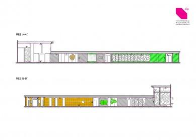 Longin Business Center - Sections AA, BB - foto: 4A architekti