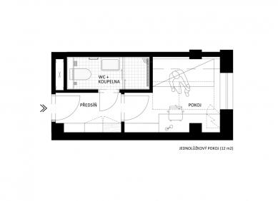 Studentské bydlení K Botiči