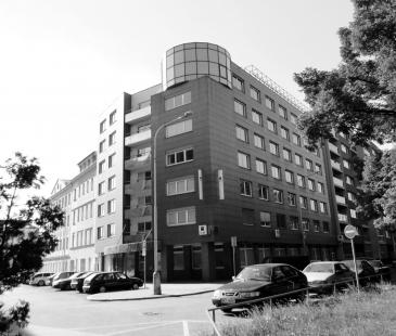 Studentské bydlení K Botiči - Původní stav