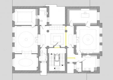 Rekonstrukce činžovního domu Matoušova 12 - 2NP