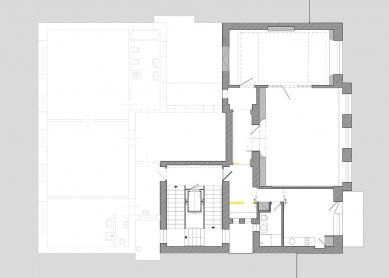 Rekonstrukce činžovního domu Matoušova 12 - 3NP