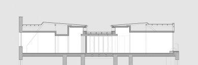 Rekonstrukce činžovního domu Matoušova 12 - Řez podkrovím