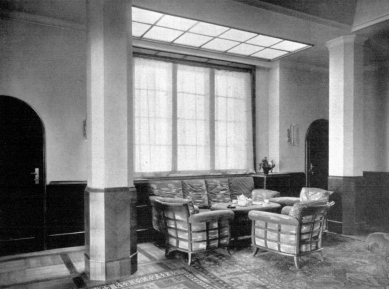 Rekonstrukce činžovního domu Matoušova 12 - Dobová fotografie interiéru
