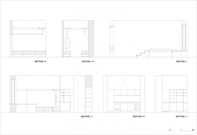 Level Apartment - Rezopohľad - foto: OFIS Arhitekti