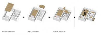 Level Apartment - Schéma - foto: OFIS Arhitekti