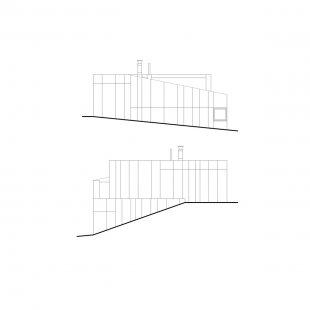 Dom K2 - Jižní a severní pohled - foto: paulíny hovorka architekti