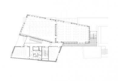 Škola architektury ve Štrasburku - Půdorys - foto: Marc Mimram