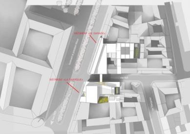 Škola architektury ve Štrasburku - Situace - foto: Marc Mimram