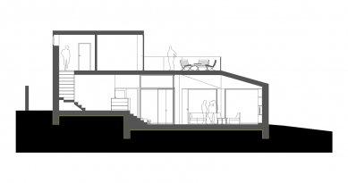 Rodinný dům - Řez