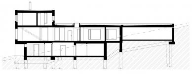 Dům Lazy III. - Řez