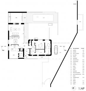 Dům Lazy III. - 1NP