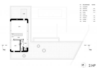 Dům Lazy III. - 2NP