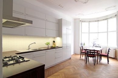 Interiér bytu na Letné - foto: archiv autorky