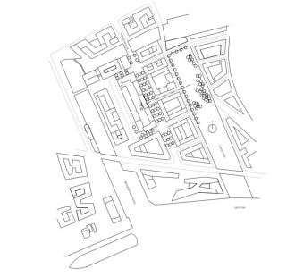Ekumenické fórum Hafencity - Situace - foto: Wandel Hoefer Lorch Architekten