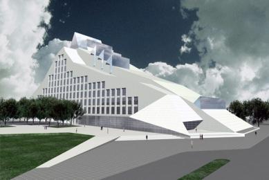 Lotyšská národní knihovna - Vizualizace