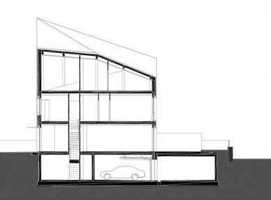 Řadové rodinné domy MikMak - Řez - foto: Fabryka Projektowa ArC2