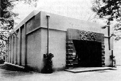 Československý pavilon při Bienále v Benátkách - Celek - foto: archiv Tomáše Novotného
