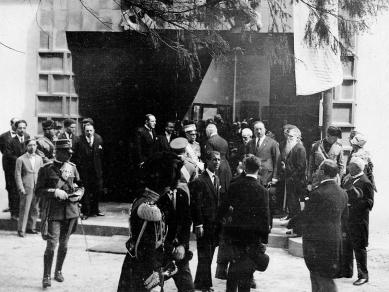 Československý pavilon při Bienále v Benátkách - Otevření - foto: archiv Tomáše Novotného