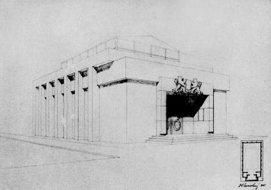 Československý pavilon při Bienále v Benátkách - Perovka - foto: archiv Tomáše Novotného
