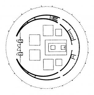 Katolický farní kostel svatého Jana Kapistrána - Půdorys kostela