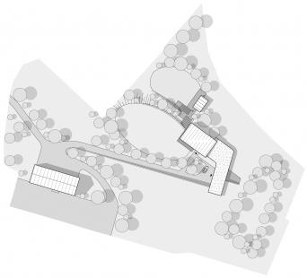 Vila nad kapličkou - Situace