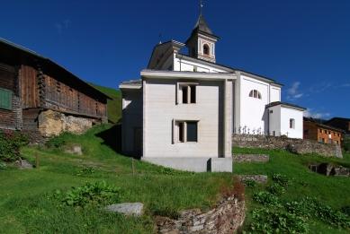 A community mortuary building - foto: Petr Šmídek, 2008